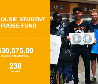 The Dalhousie Student Refugee Fund (DalSRF)