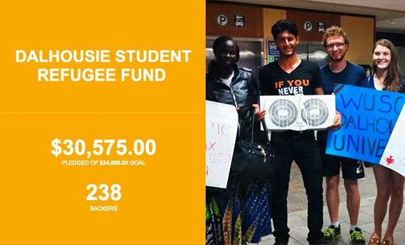 The Dalhousie Student Refugee Fund (DalSRF)